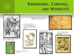 engravings carvings and woodcuts