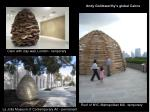 andy goldsworthy s global cairns