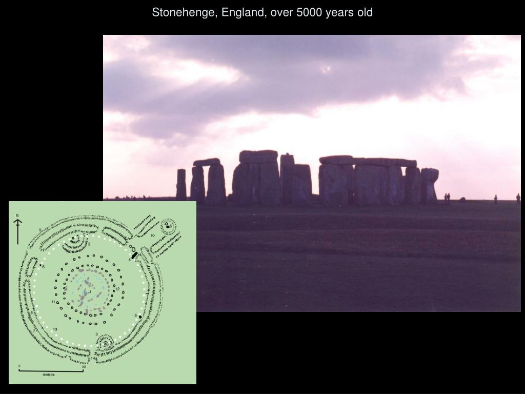 Stonehenge, England, over 5000 years old