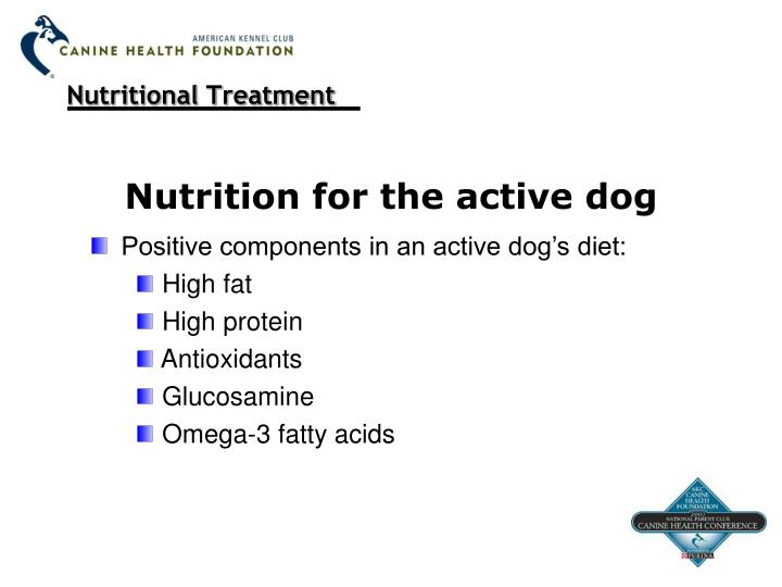 Nutritional Treatment