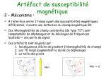 art fact de susceptibilit magn tique34