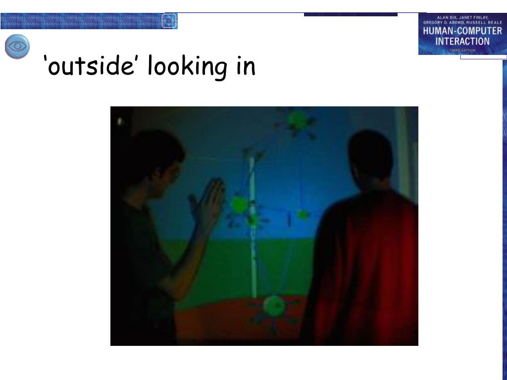 'outside' looking in