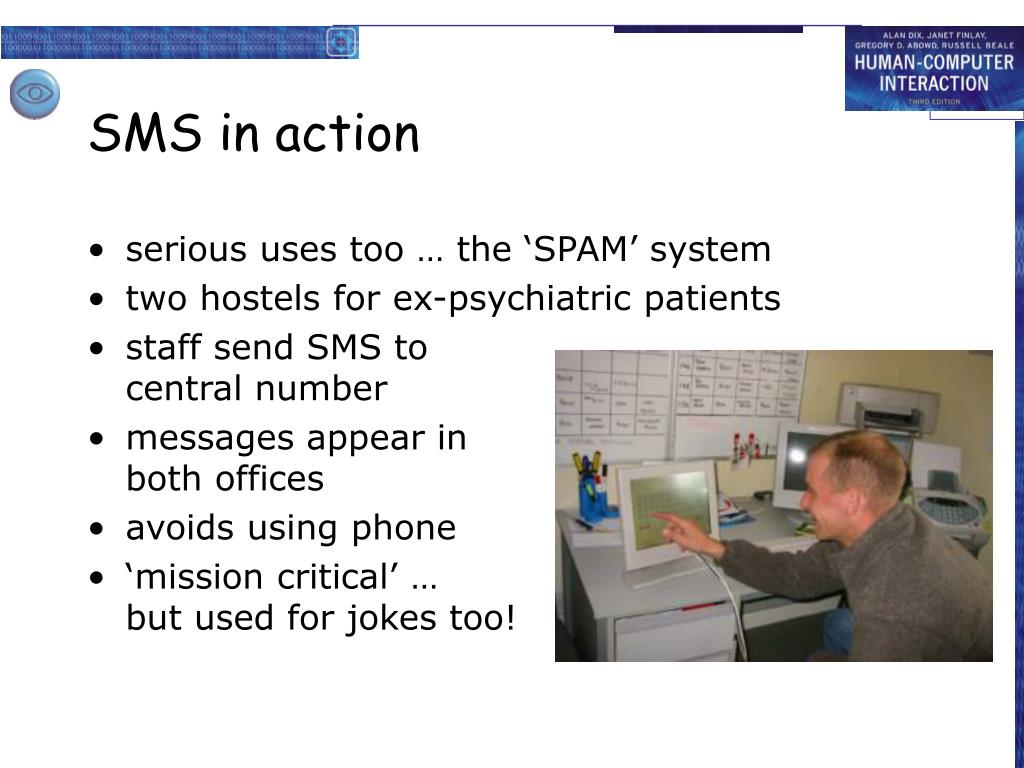 SMS in action