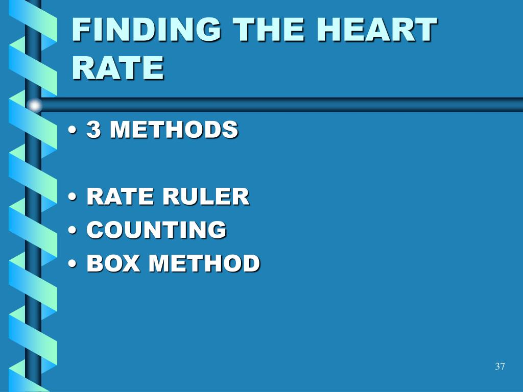 FINDING THE HEART RATE