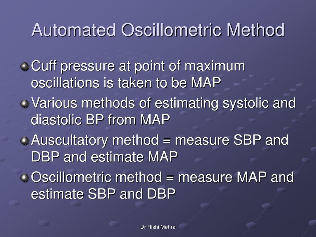 Automated Oscillometric Method