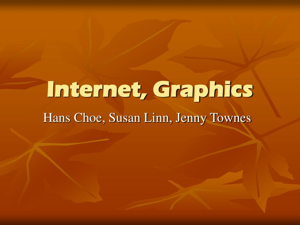 Internet, Graphics