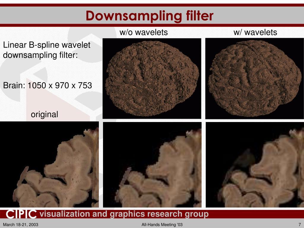 Downsampling filter