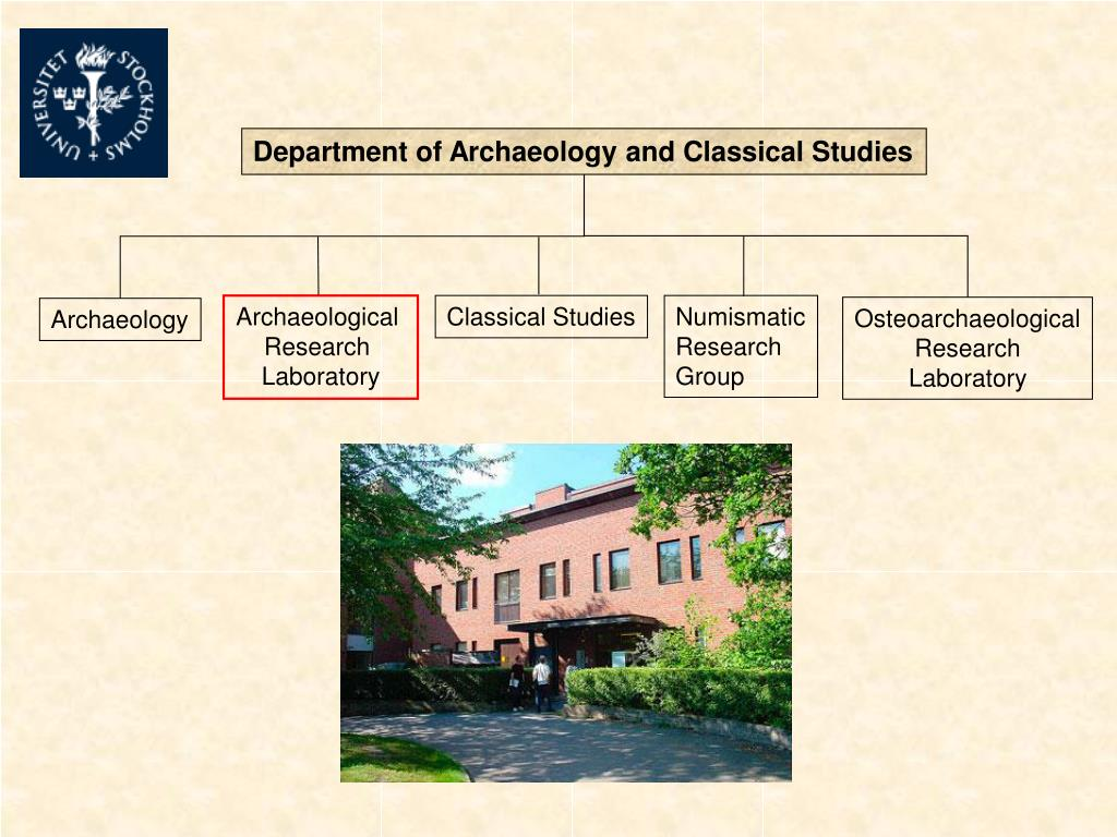 Department of Archaeology and Classical Studies