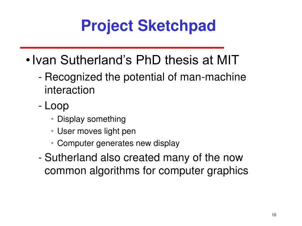 Project Sketchpad