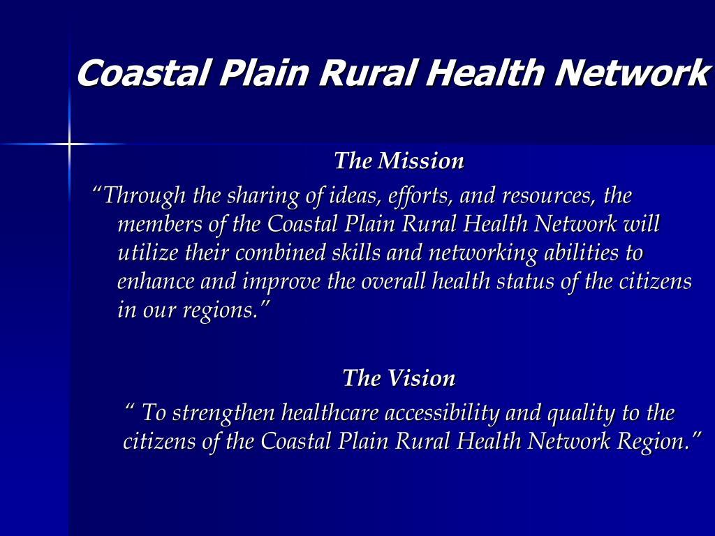 Coastal Plain Rural Health Network