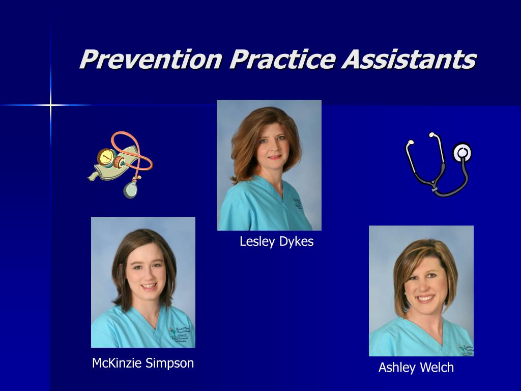 Prevention Practice Assistants
