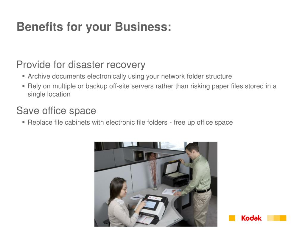 Benefits for your Business: