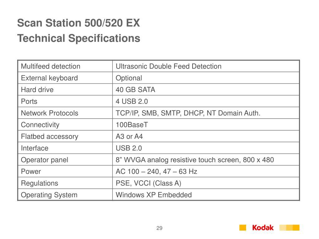 Scan Station 500/520 EX