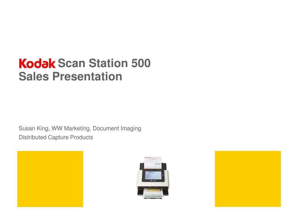 Scan Station 500