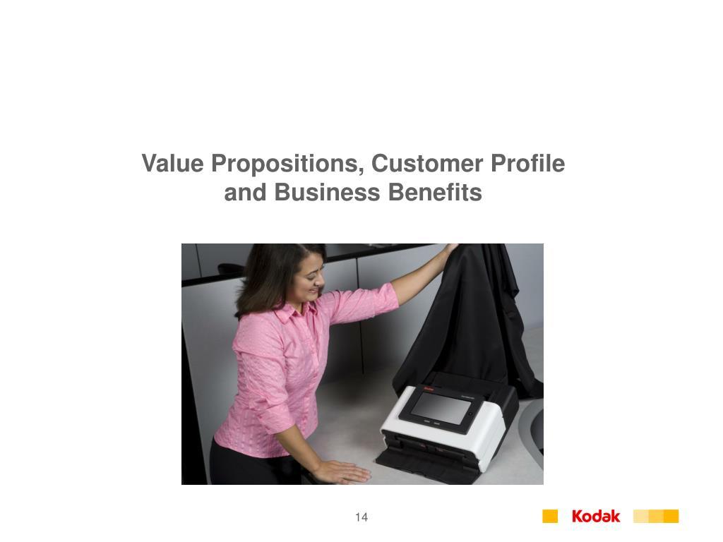 Value Propositions, Customer Profile