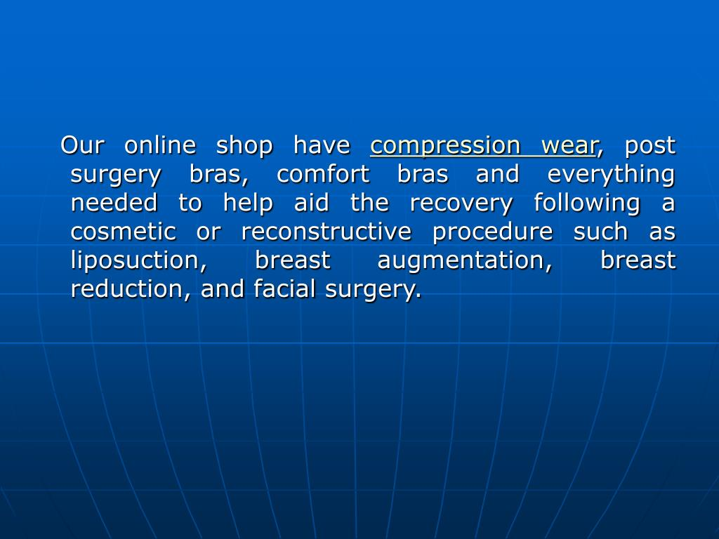 Our online shop have