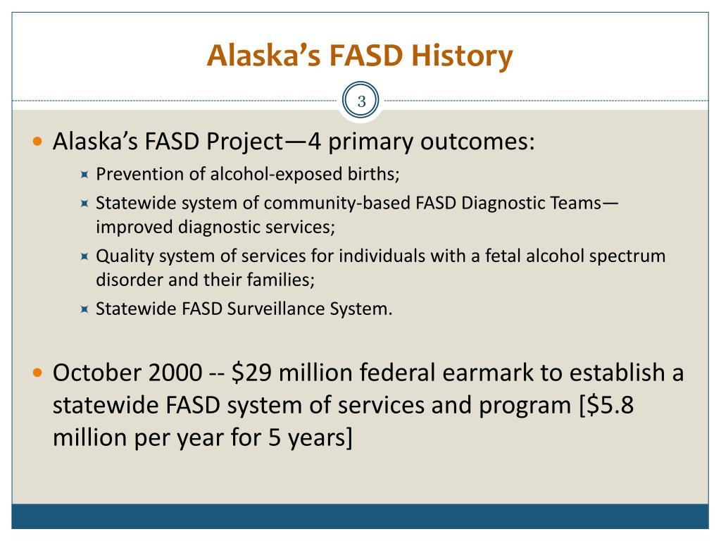 Alaska's FASD History
