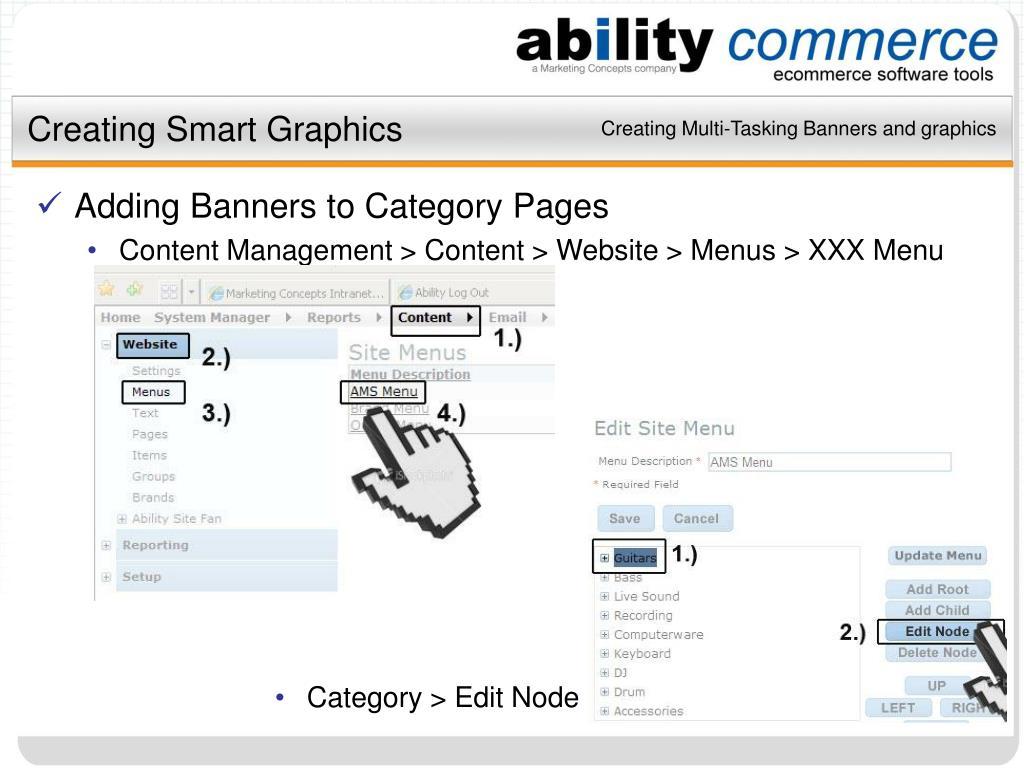 Creating Smart Graphics