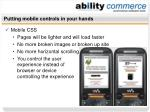 putting mobile controls in your hands48