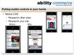 putting mobile controls in your hands49