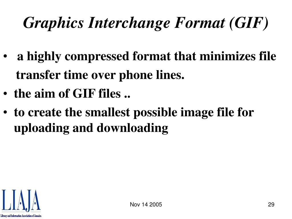 Graphics Interchange Format (GIF)