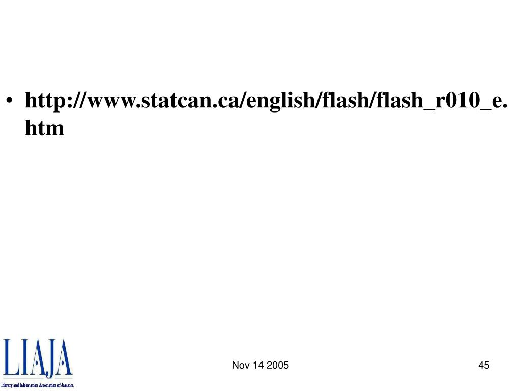 http://www.statcan.ca/english/flash/flash_r010_e.htm