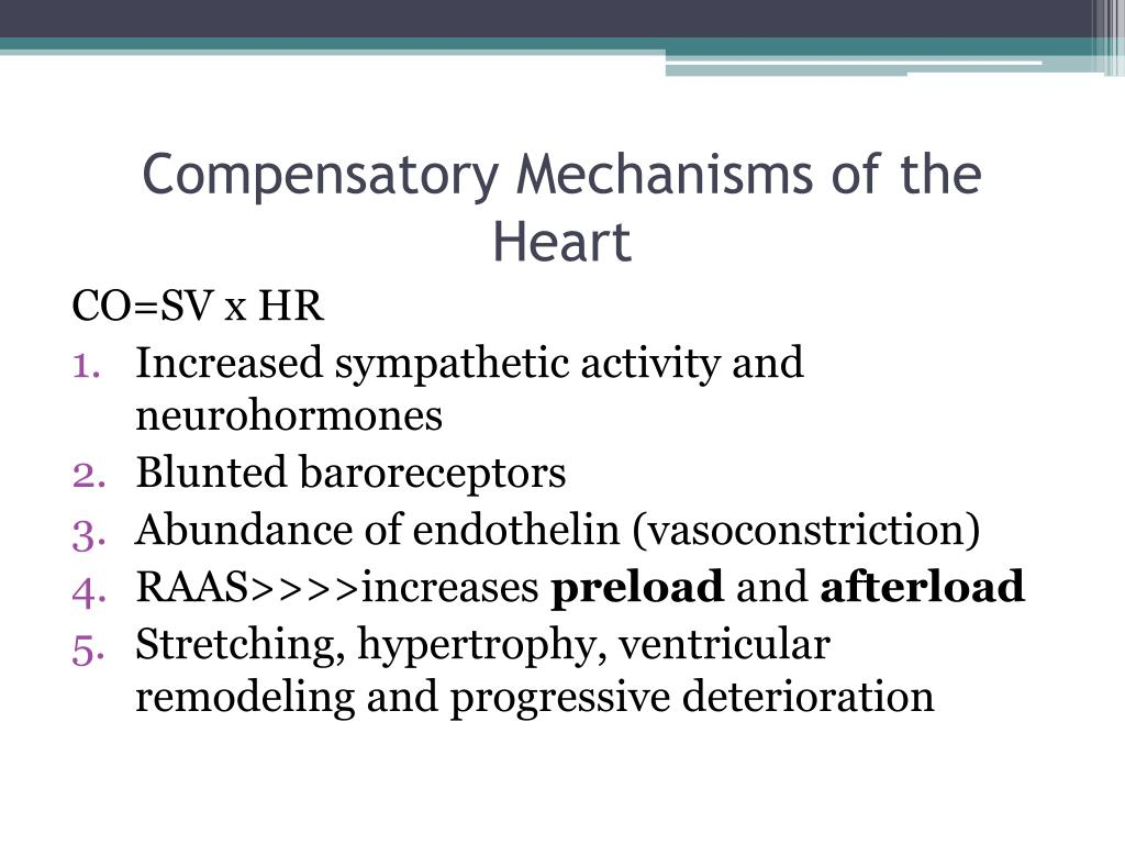 Compensatory Mechanisms of the Heart