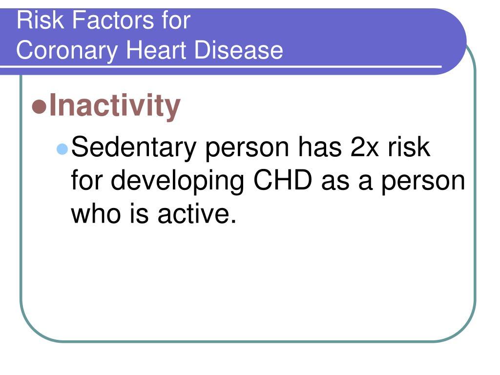 Risk Factors for