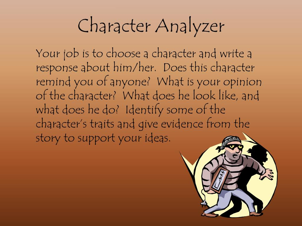 Character Analyzer