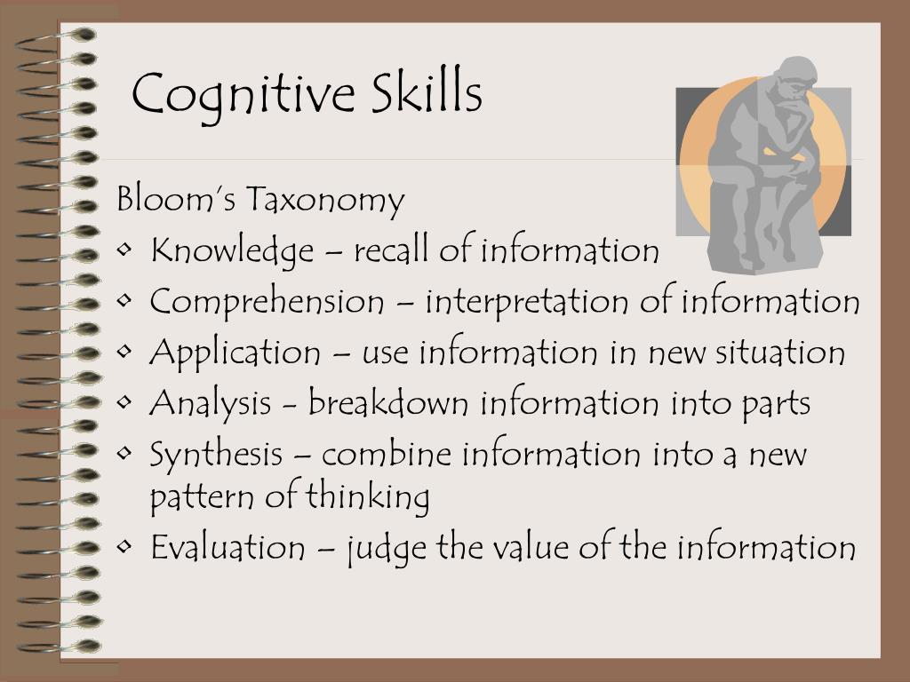 Cognitive Skills