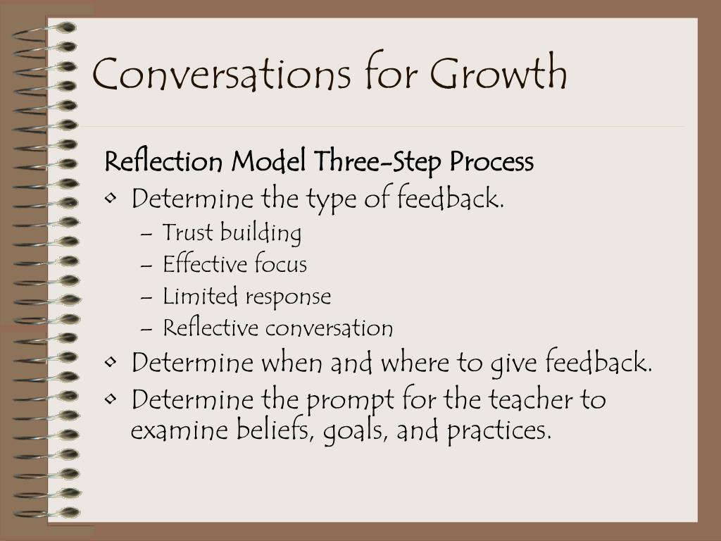 Conversations for Growth