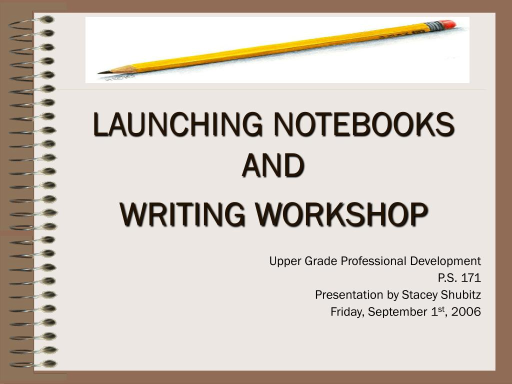 LAUNCHING NOTEBOOKS AND