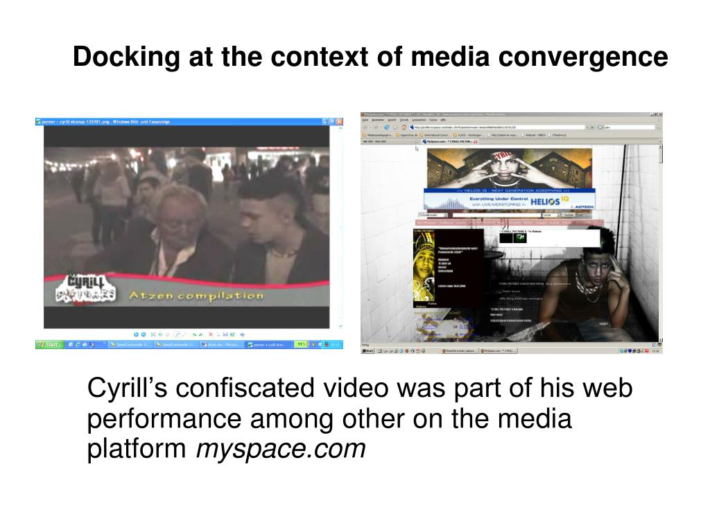 Docking at the context of media convergence