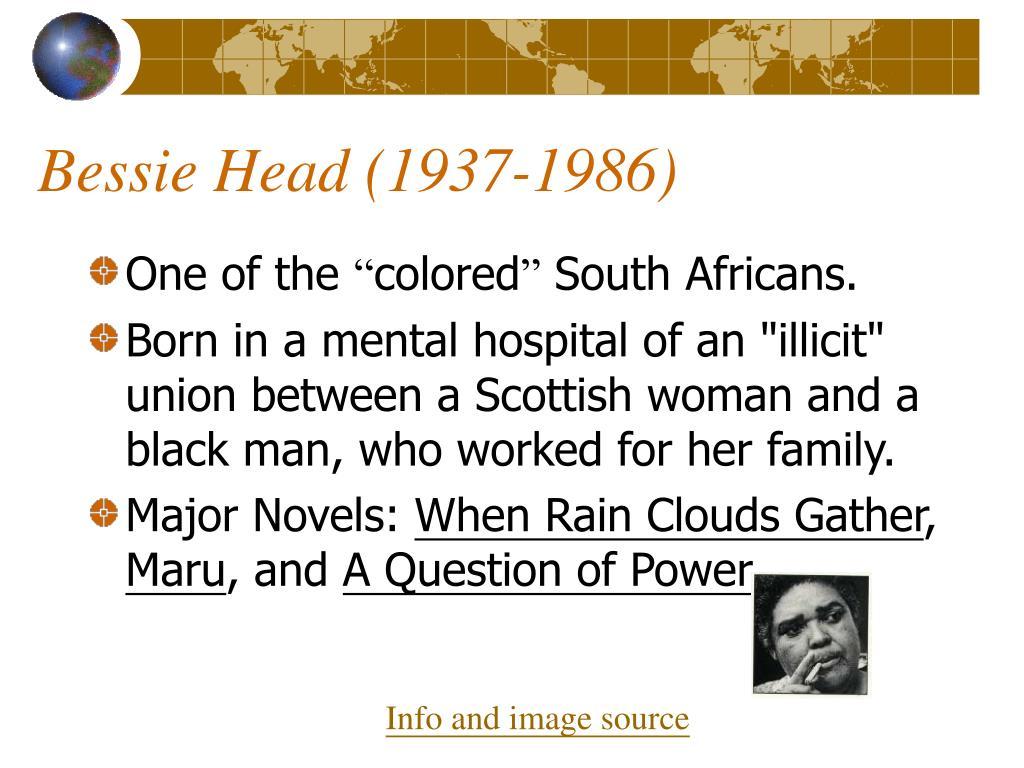 Bessie Head (1937-1986)