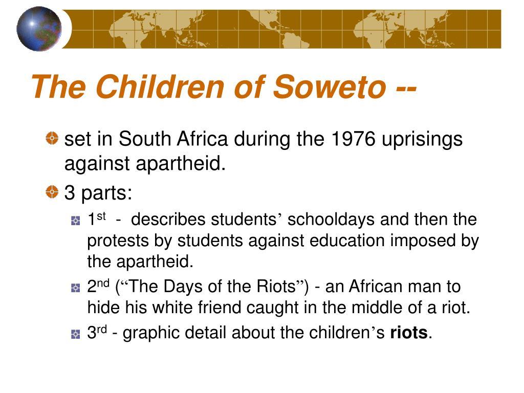 The Children of Soweto --