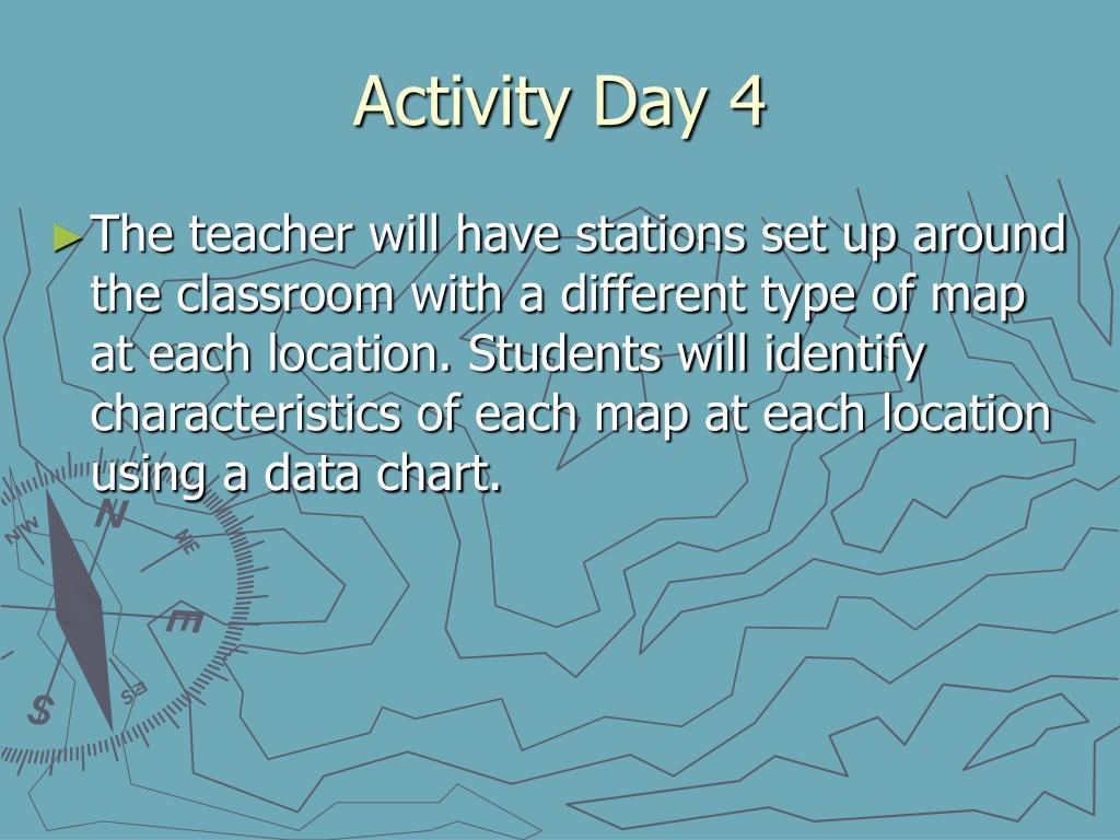 Activity Day 4
