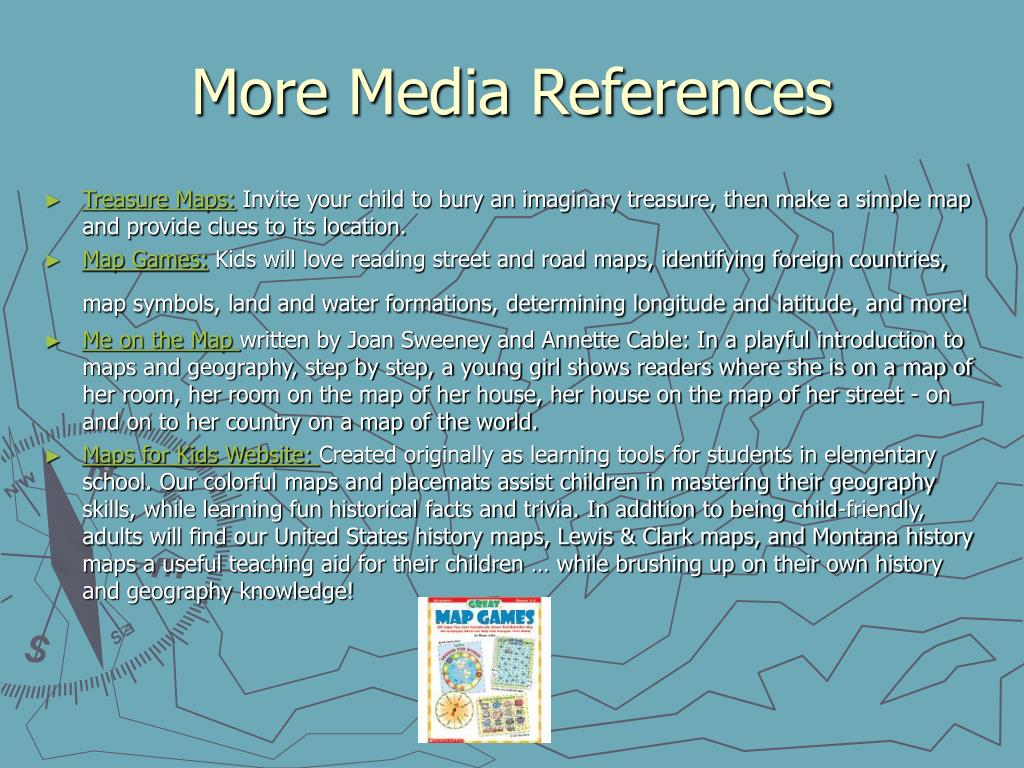 More Media References