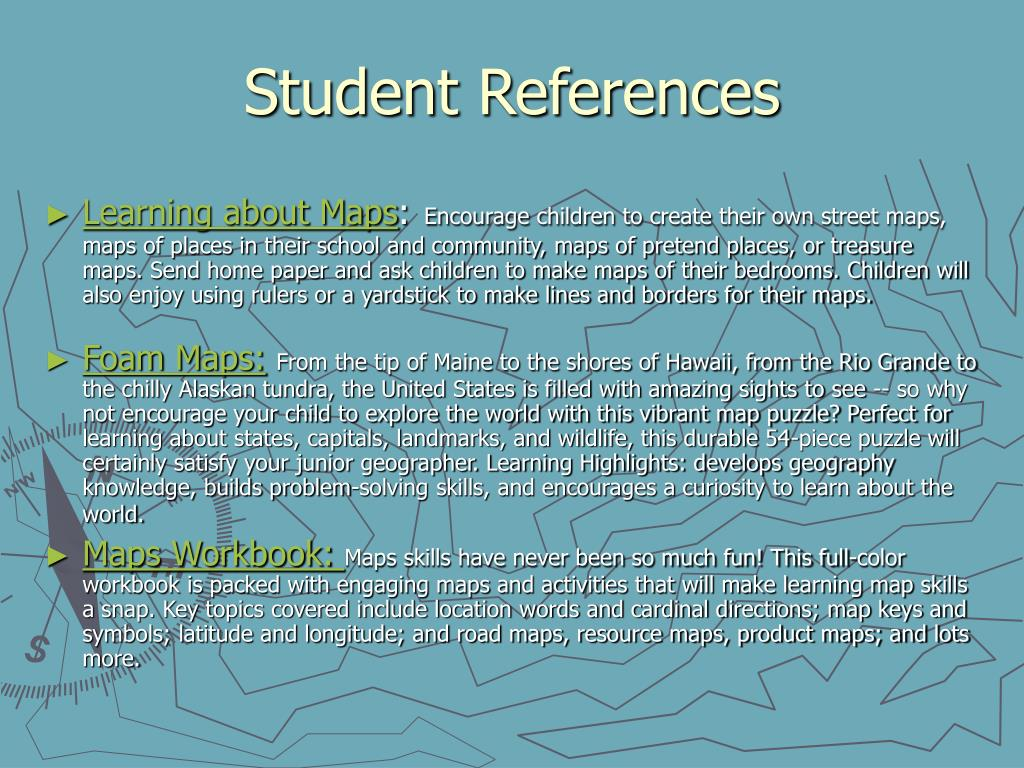 Student References