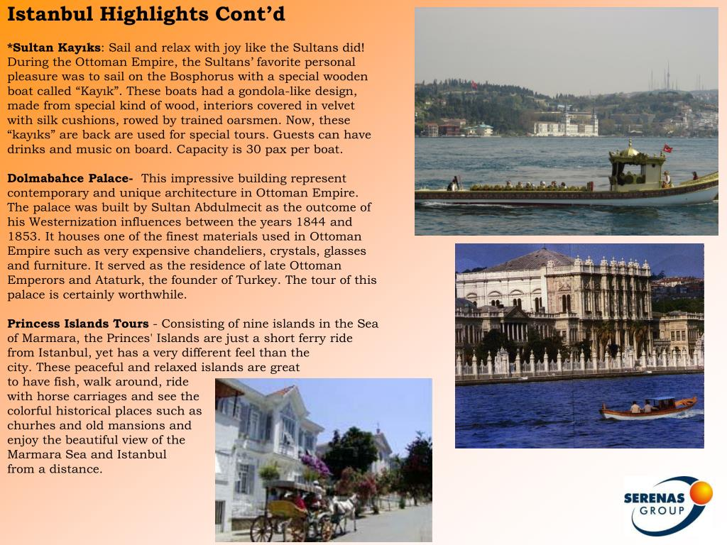 Istanbul Highlights Cont'd