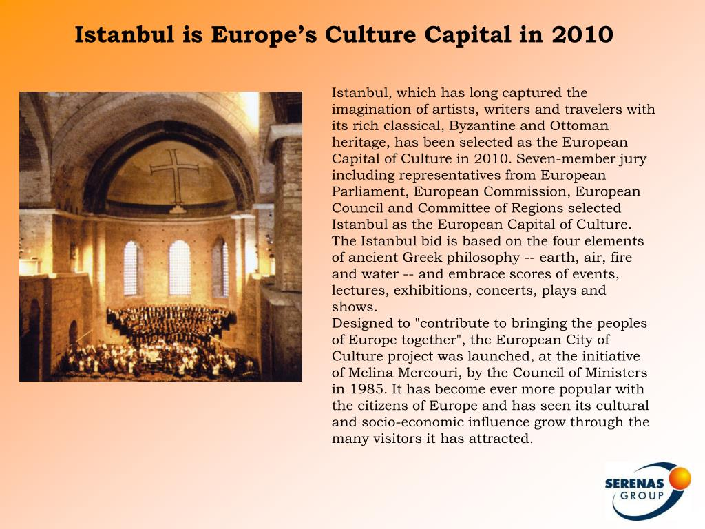 Istanbul is Europe's Culture Capital in 2010