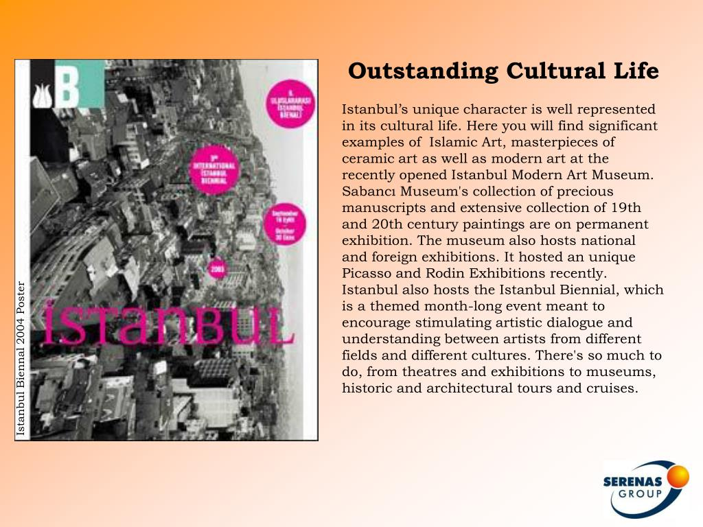 Outstanding Cultural Life
