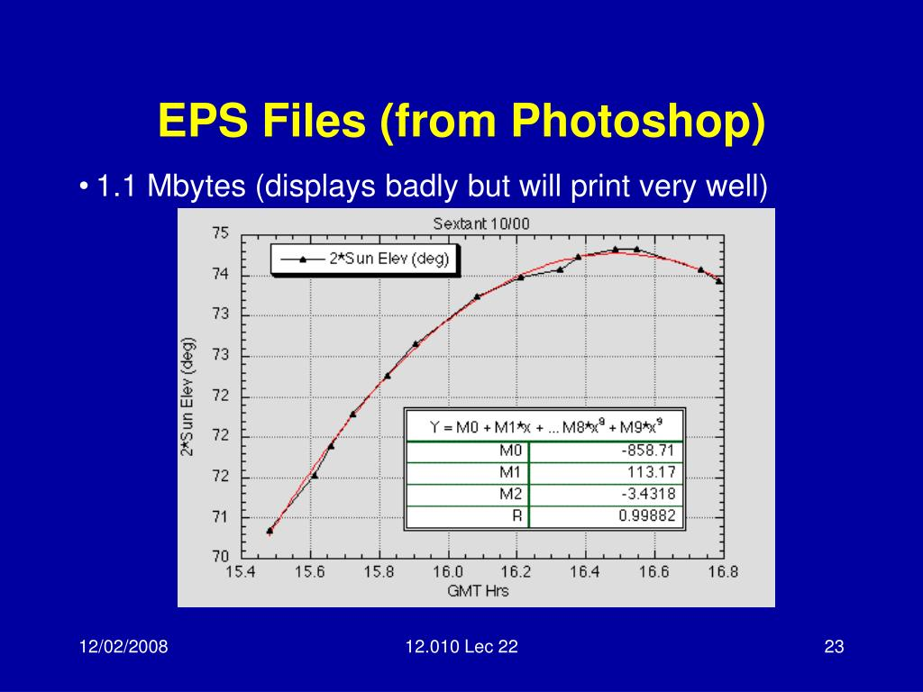 EPS Files (from Photoshop)