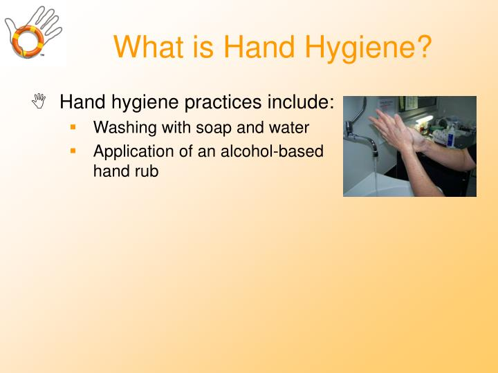 What is hand hygiene