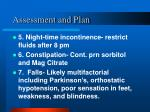 assessment and plan18