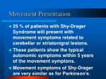 movement presentation