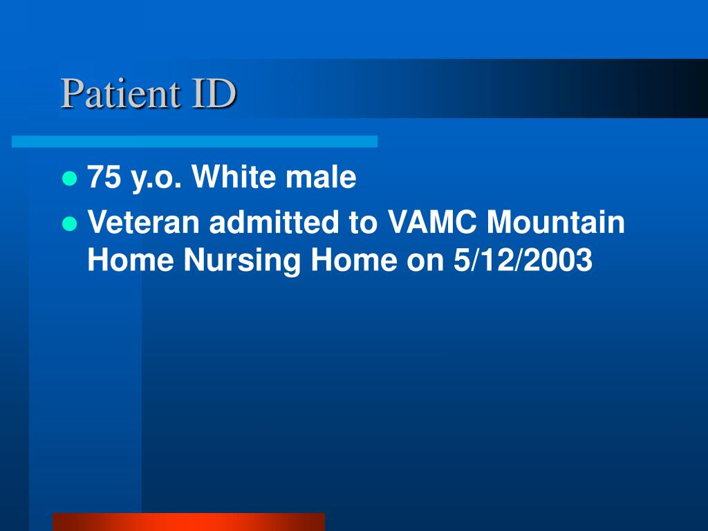 Patient ID