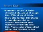 physical exam13