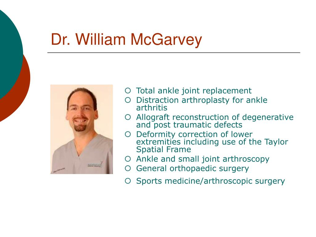 Dr. William McGarvey