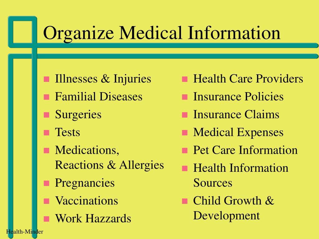 Illnesses & Injuries