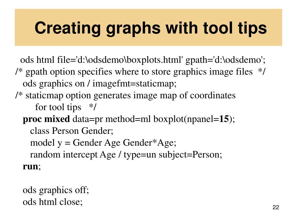 Creating graphs with tool tips